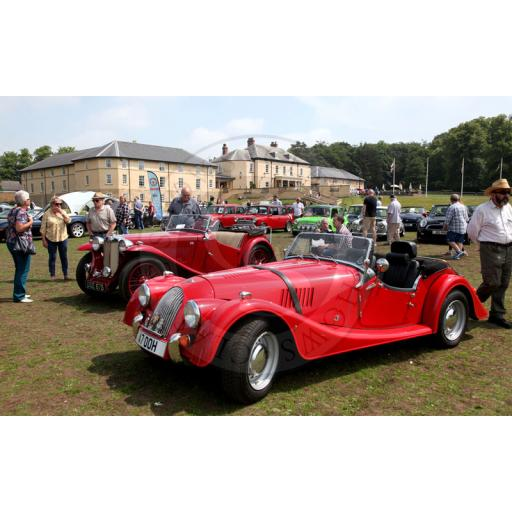 Sunday 8 August 2021 - North East Classic Car & Motorcycle Show at Hardwick Hall