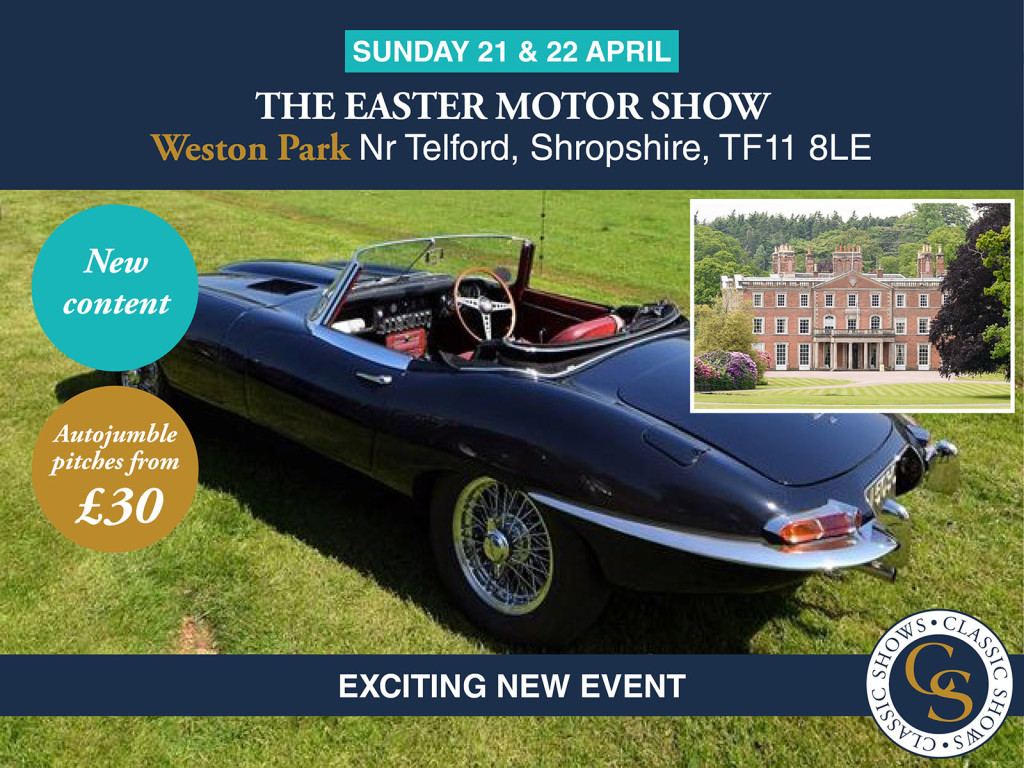 The Easter Motor Show at Weston Park