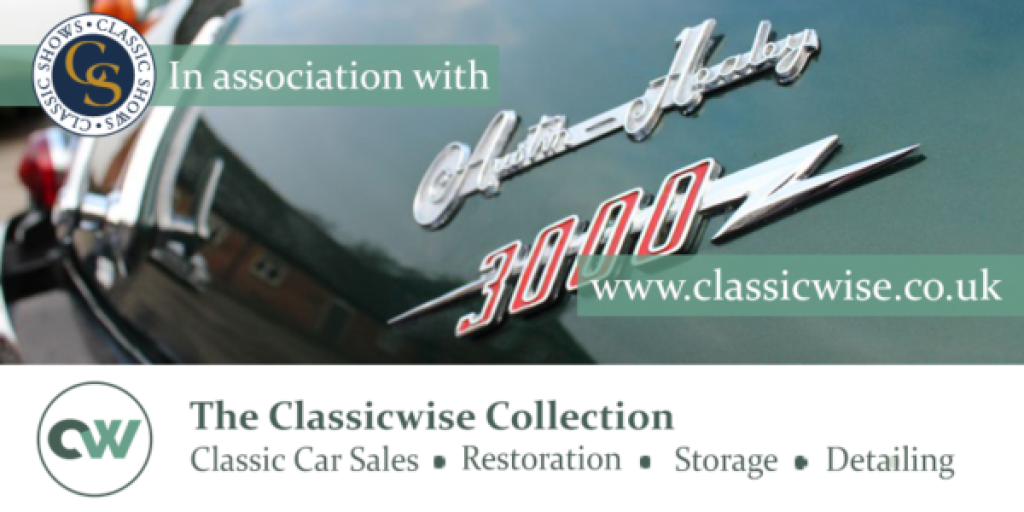 The Classicwise Collection to sponsor the Notts Classic Car & Motorcycle Shows at Thoresby Park, Ollerton in 2019