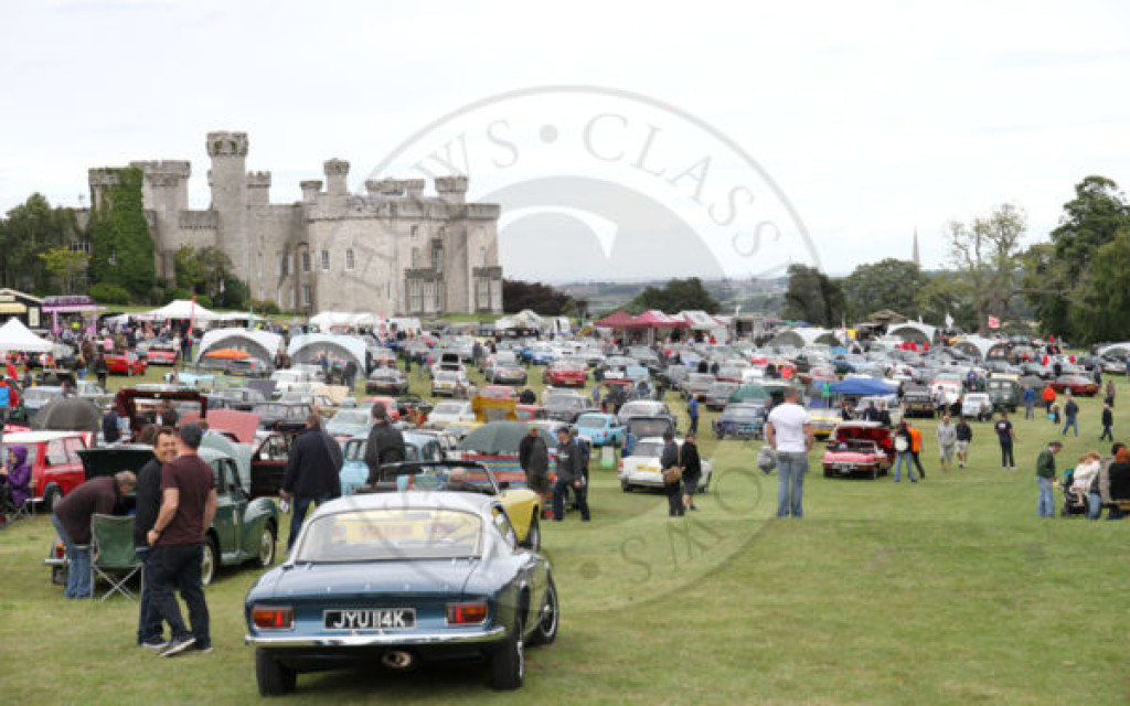 Concours Winners and Photos from the Classics at the Castle event at Bodelwyddan Castle. 30 July 2017.