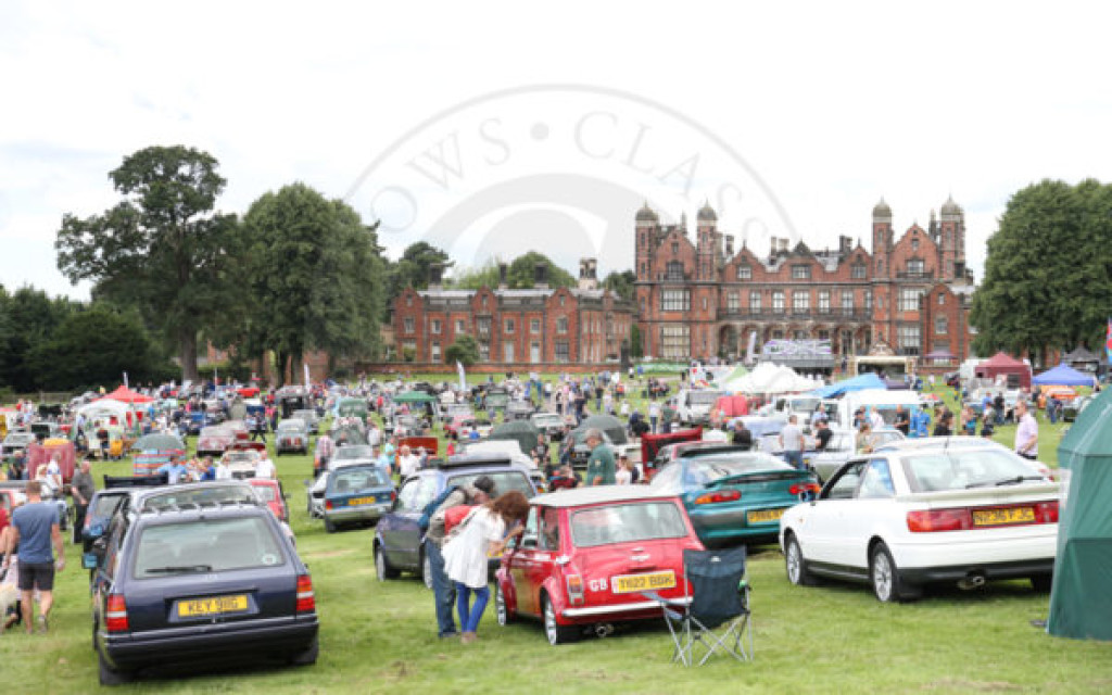 Concours Winners & Photos from the Cheshire Classic Car & Motorcycle Show at Capesthorne Hall. 23 July 2017.